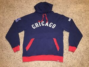 superior quality 7eb62 12762 Details about Chicago White Sox Majestic Cooperstown Retro Throwback  Pullover Hoodie - Men's S