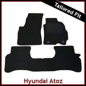 Hyundai-Atos-1998-2001-Tailored-Carpet-Car-Mats-BLACK