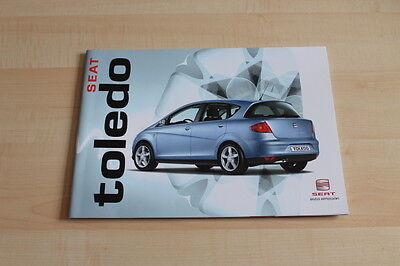 79041) Seat Toledo Prospekt 04/2005 Weder Zu Hart Noch Zu Weich