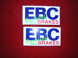 Ebc Green Stuff Brakes Stickers X 2 Ebay
