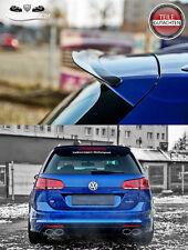 VW GOLF VII 7 R Variant 2012+ Heckspoiler Spoiler Ansatz Dachspoiler CARBON LOOK