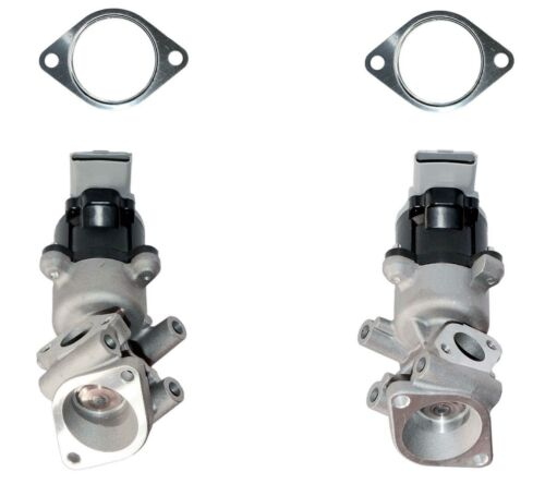 FOR CITROEN C5 MK3 C6 /& PEUGEOT 407 607 2.7 HDI LEFT /& RIGHT EGR VALVES