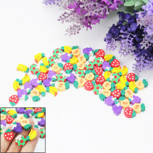 Lovely-50-Pcs-Novelty-Fruit-Pencil-Eraser-Stationery-For-Kids-Children-Gift-Toy
