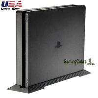 Video Game Custom Designed Vertical Stand Bracket For Ps4 Slim Console Black