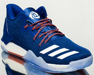 7a5fbfd48f84 adidas D Rose 7 Low VII drose men basketball shoes blue BY4499