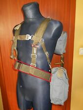 POLISH PEOPLE'S ARMY WEBBING KIT W/ GAS MASK, NBC SUIT, CANTEEN LATE 80'S