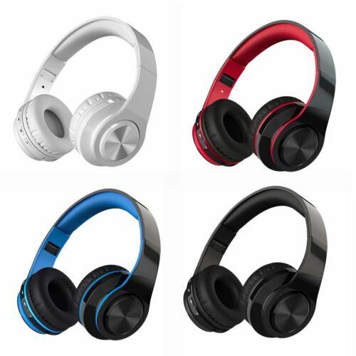 Foldable Bluetooth 4.1 Wireless Stereo Headphones Sports Running Headset