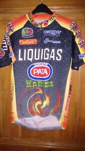 MAILLOT-CYCLISTE-PRO-TEAM-LIQUIGAS-2000-OFFERT-PAR-HONCHAR-NO-TOUR-DE-FRANCE