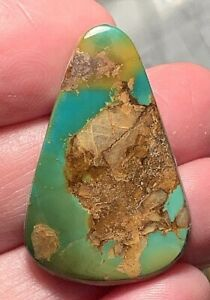 natural SHOWY  (C video) AMAZING!! BRIGHT GREEN BLUE & MATRIX ROYSTON TURQUOISE