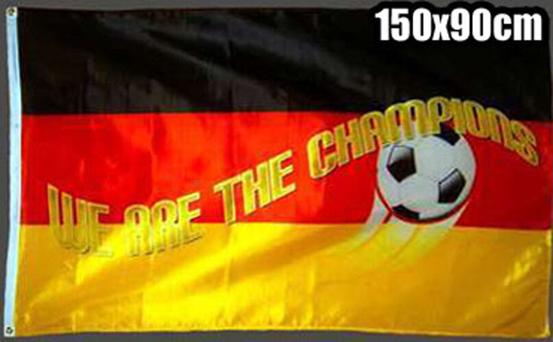 Deutschland Fahne Flagge Champions Champions Champions 150 x 90cm WM 8ee9f9