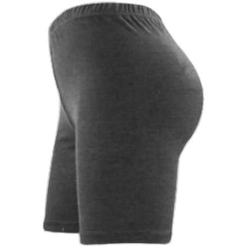 Mesdames Femmes Cyclisme Extensible Coton Lycra Short Active Leggings Casual Sport