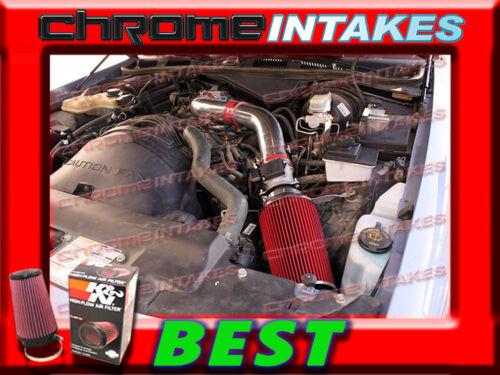K/&N+RED 92-95 FORD CROWN VICTORIA//LINCOLN TOWN CAR//MERCURY 4.6L FULL AIR INTAKE