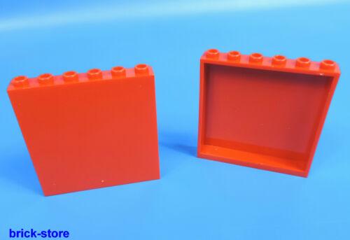 LEGO ® nr-4505067//1x6x5 pannellí Rosso//2 pezzi