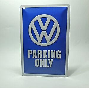 VW-Original-Blechschild-034-VW-Parking-Only-034-000087002A287