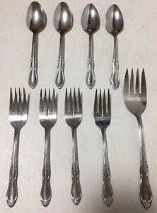 Oneida SL /& GH Rogers Stainless Steel HOMESTEAD Lot of 2 Iced Tea Spoons