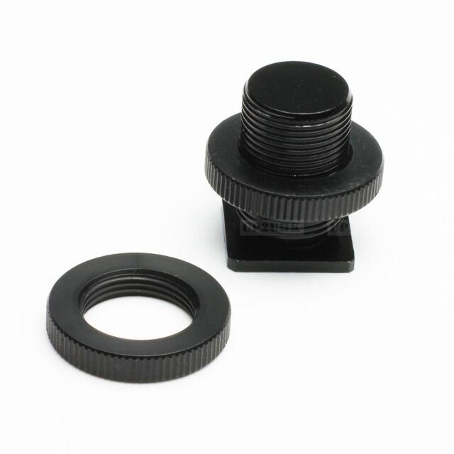 "5/8"" 1/4"" Cold Hot Shoe Adapter Screw fr XLR Microphone Mic Mount Bracket Camera"