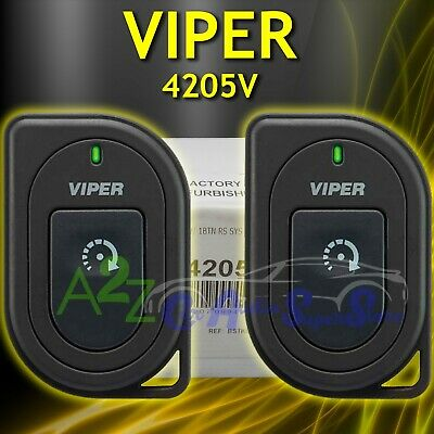 VIPER 4205V 2 WAY 1 BUTTON REMOTE START SYSTEM WITH1/2 MILE RANGE  REFURBISHED 93207097324 | eBayeBay