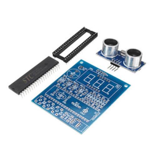 DIY Ultrasonic Ranging Module Radar Alarm Kit Based on 51 Single Chip Arduino