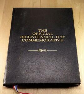 1976 OFFICIAL BI CENTENNIAL PROOF SILVER COMMEMORATIVE ORIGINAL HOLDER      BCS