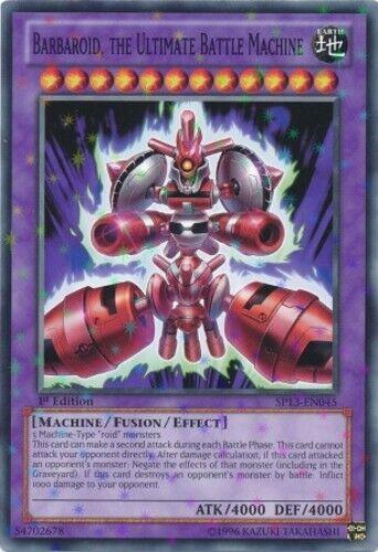 1x Barbaroid, the Ultimate Battle Machine - SP13-EN045 - Starfoil Rare - Unlimit