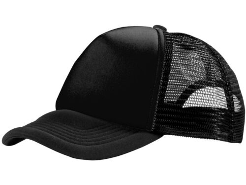 Eurotshirts 5 Panel Trucker Mesh Cap Hat