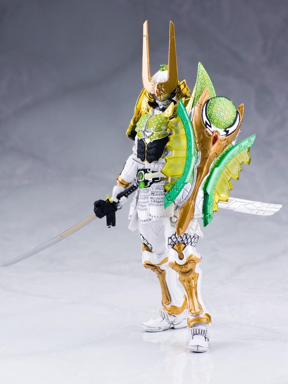 Japan Rare BANDAI SIC Chogokin Limited Masked Kamen Rider ZANGETSU Melon Arms