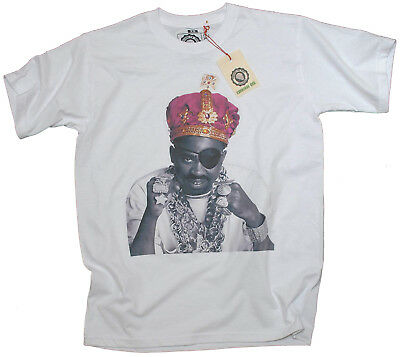 Actual Fact Slick Rick Crown Jewels Colour White Crew Neck Tee T-shirt