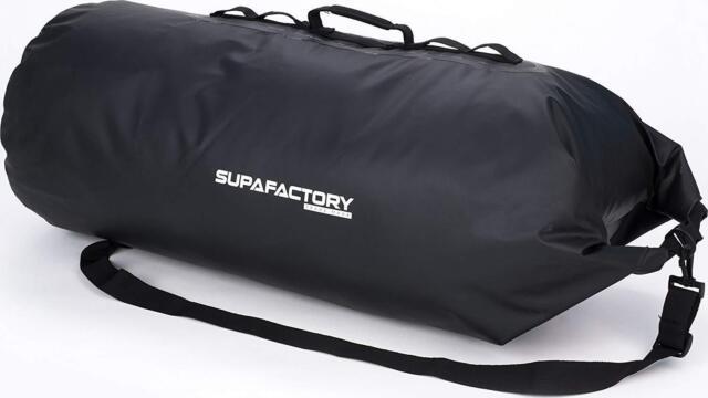 Supafactory 60L Waterproof Dry / Roll Bag For Motorcycles & Motorbikes