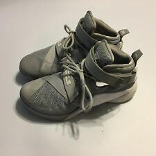 e7a9c54294da item 1 Nike Lebron James Soldier IX Mens Basketball Shoes Gray white 813264  001 Sz 9 -Nike Lebron James Soldier IX Mens Basketball Shoes Gray white  813264 ...