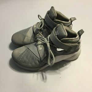 10e571c2 Nike Lebron James Soldier IX Mens Basketball Shoes Gray white 813264 ...