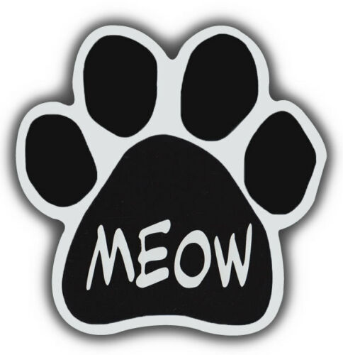MEOWCars Refrigerators Cat Paw Shaped Magnets Trucks
