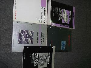 1995-Toyota-Avalon-Servicio-Tienda-Reparacion-Manual-Juego-Libro-Fabrica-OEM-95