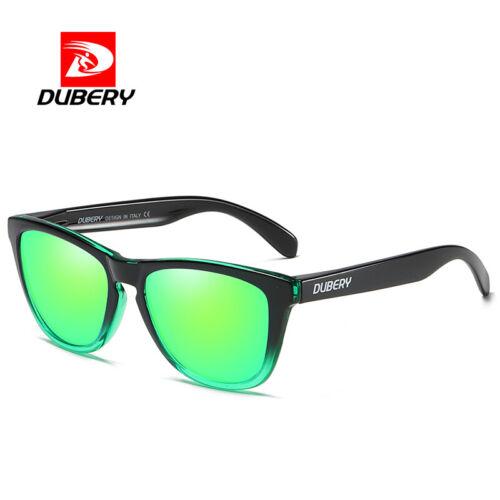 DUBERY Men/'s Polarized Sport Sunglasses Outdoor Driving Fishing Square Glasses