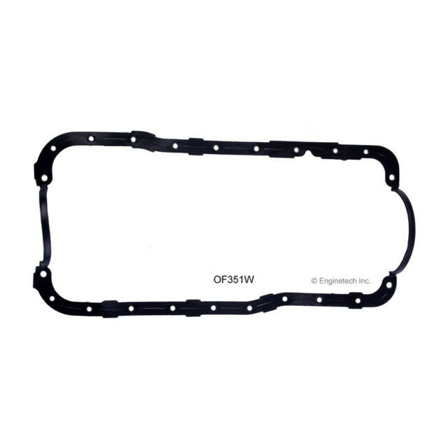 "Oil Pan Gasket 87-91 Fits Ford CAR 351//5.8L OHV V8 /""G,H,M/"" 16V Windsor"
