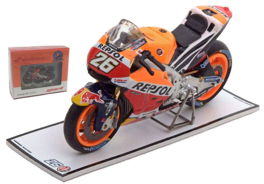 Spark M43004 Honda RC213V Winner Misano MotoGP 2016 - Dani Pedpink 1 43 Scale