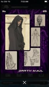 Topps-Star-Wars-Digital-Card-Trader-Preview-Sketch-To-Screen-Darth-Maul-Insert