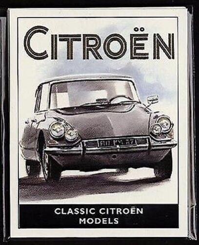 Original Golden Era Sammler Karte Zug Avant Ds19 Sm /& 2cv Citroen