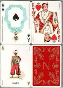 370-France-Napoleon-Souvenir-Playing-Cards-Single-1970