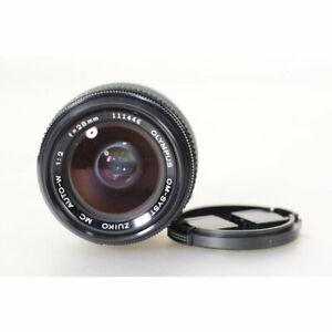 Olympus-Zuiko-28mm-F-2-0-Wide-Angle-Lens-Zuiko-2-0-28-Weitwinkel-OM-Objektiv