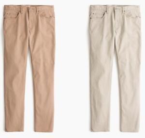 06ab8fd2e9 J.Crew Corduroy Jeans Mens 484 Slim-Fit Lightweight Stretch Bedford ...