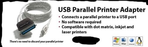 Keyspan USB Parallel Printer Adapter for PC and Mac