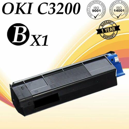 1 PACK C5100 Black Toner For Okidata C5100 C5150 C5200 C5250 C5300 C5400 C5450