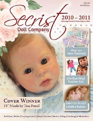 REBORN DOLL TUTORIALS Guide Book from Secrist, tips tricks and supplies list