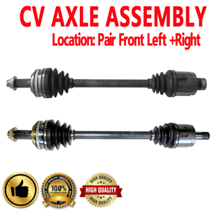 FRONT LEFT /& RIGHT CV DRIVE AXLE SHAFT ASSEMBLY For ACURA MDX,HONDA PILOT