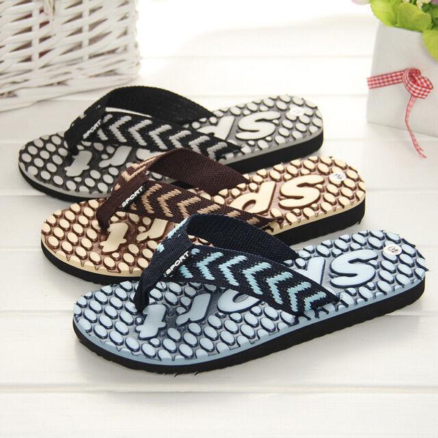 Mens Sandals Flip Flop Slip On Sport Slide Strap Shower -4015