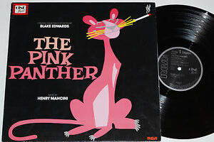 THE-PINK-PANTHER-Henry-Mancini-LP-Soundtrack-OST-RCA-NL-80-832