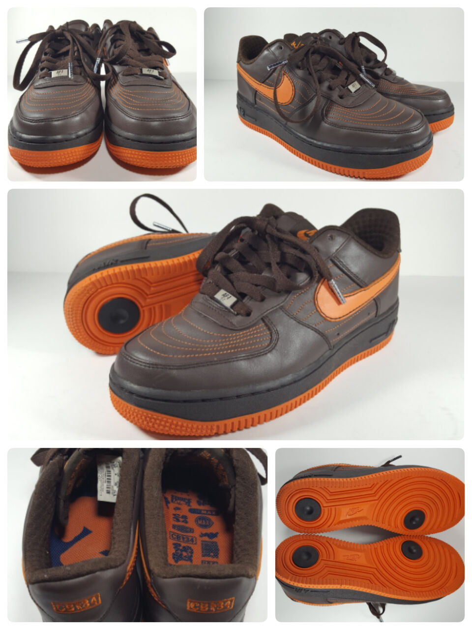 NIKE AIR FORCE | ONE | FORCE Low Premium Charles Barkley CB34 Shoes | Wmn Size 8.5  6.5Y 111368