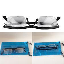 "Dial Eye Glasses Vision Reading Glasses Flexible Frames Case Adjustable POP"""