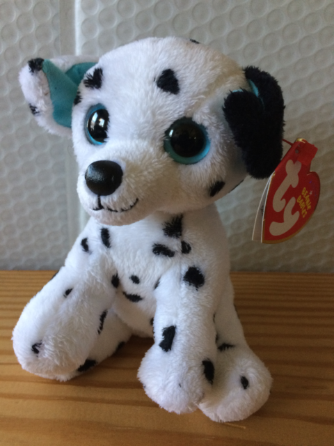Ty Beanie Baby Babies Hydrant Dalmatian W tag Plush Stuffed Toy December 9 38c5aadc66f2
