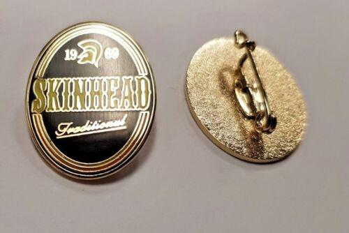 Badge Enamel Pin Badge Oi!,Mods Skinhead 1969 Traditional SKA